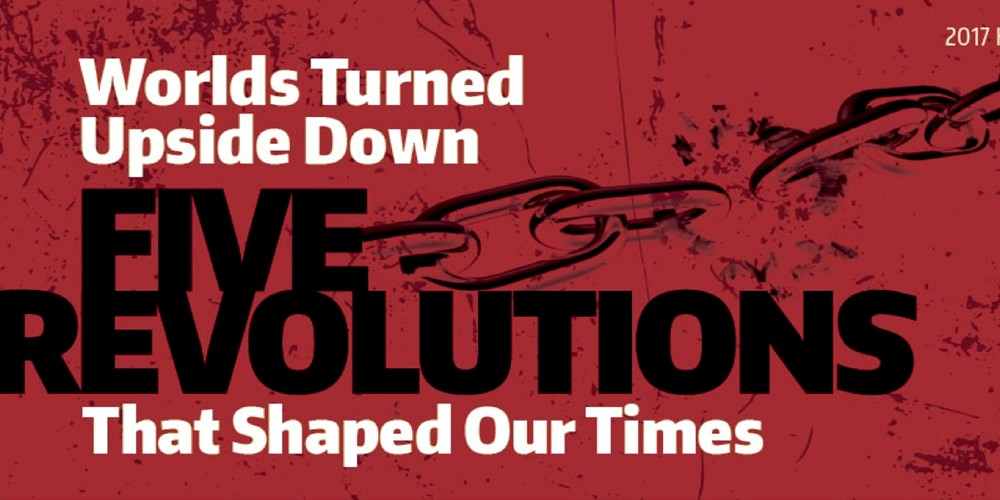 Five revolutions that shaped our times