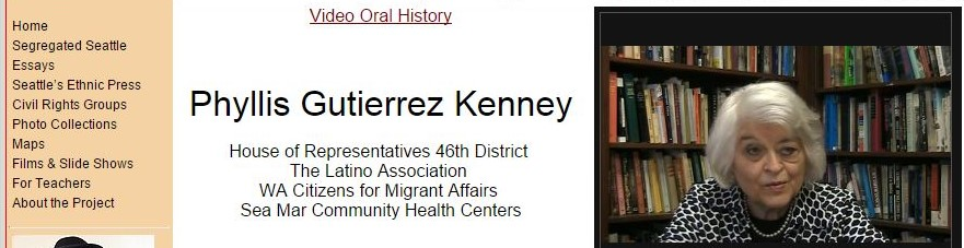 Video Oral History - Phyllis Gutierrez Kenney