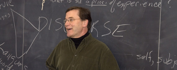 Professor John Toews teaching
