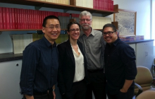 Jessie Kindig and her dissertation committee