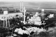 Hanford B Reactor, 1940s