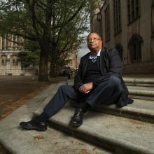 Larry Gossett, photo by Rick Dahms