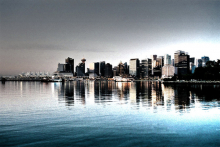 Vancouver waterfront by C. Stenerson courtesy of flickr