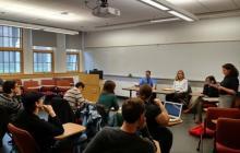 "Alumni panel at ""Careers Outside Academia"" workshop"