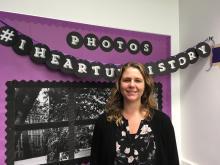 Writing Center Director Julie Osborn