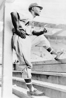 Photo of Buck O'Neil courtesy of the Negro League Baseball Museum