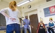 innovative curriculum, sword fighting