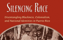 """""""Silencing Race"""" book cover"""