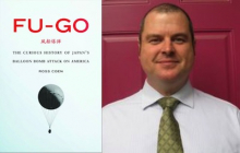 """Ross Coen and his book """"FU-GO"""""""
