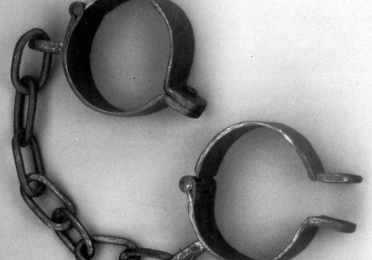 Image of metal cuffs/restraints