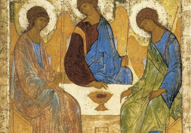 Andrei Rublev's icon of the Holy Trinity