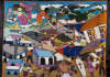 Image of Haitian Vodou Flag depicting 2010 earthquake.