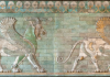 Reconstructed wall fragment from an Achaemenid palace at Susa, ca. 500 B.C., now housed at the Louvre.